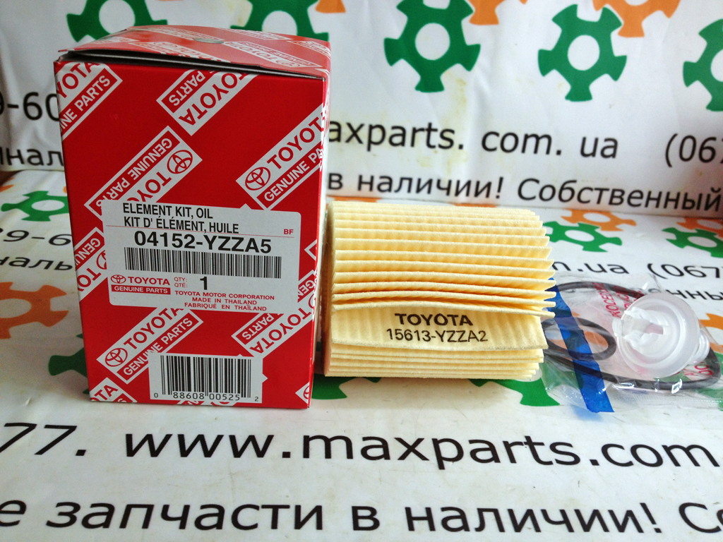 0415238010 04152-38010 04152YZZA5 04152-YZZA5 Оригинал фильтр масляный Toyota Prado 150 FJ Cruiser Lexus LS IS GS